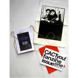 """Aglaia Haritz FANZINE CACTYOU! """"BLACK WIDOW"""" 2011"""