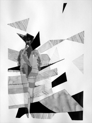 FASHION # 3 / indian ink on paper / 40x30 cm / 2013